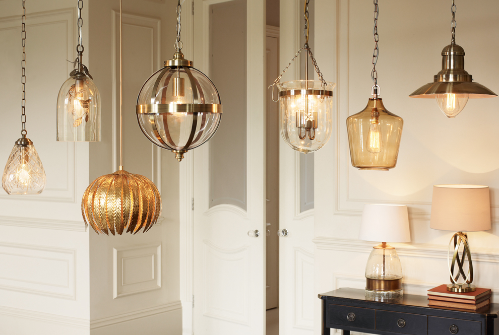 Hang Semi-transparent Light Fixtures