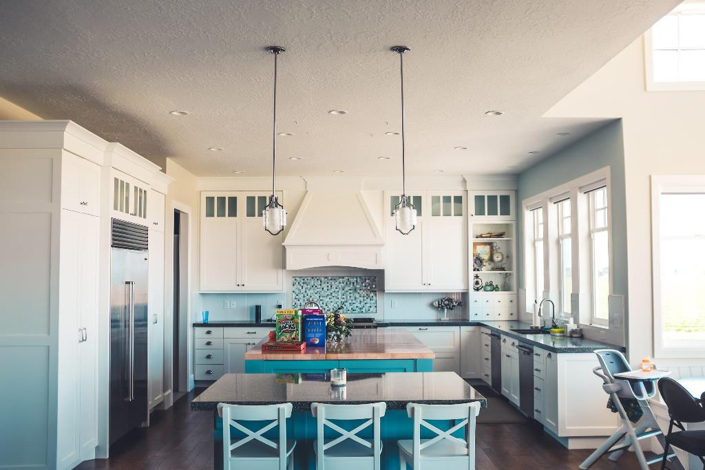 Make your kitchen the focal point